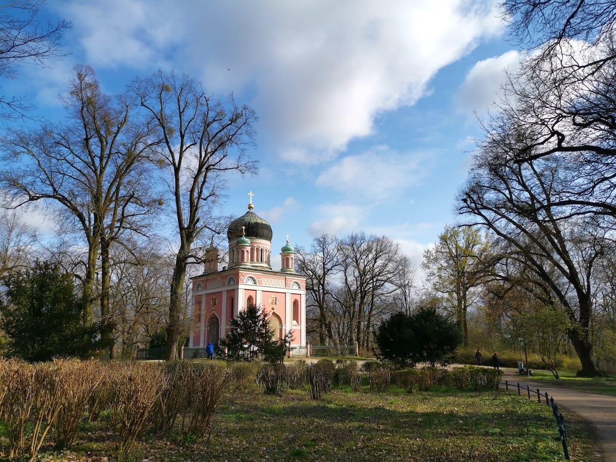 Alexander-Newski-Gedächtniskirche auf dem Pfingstberg in Potsdam. Foto: Beate Ziehres / Reiselust-Mag
