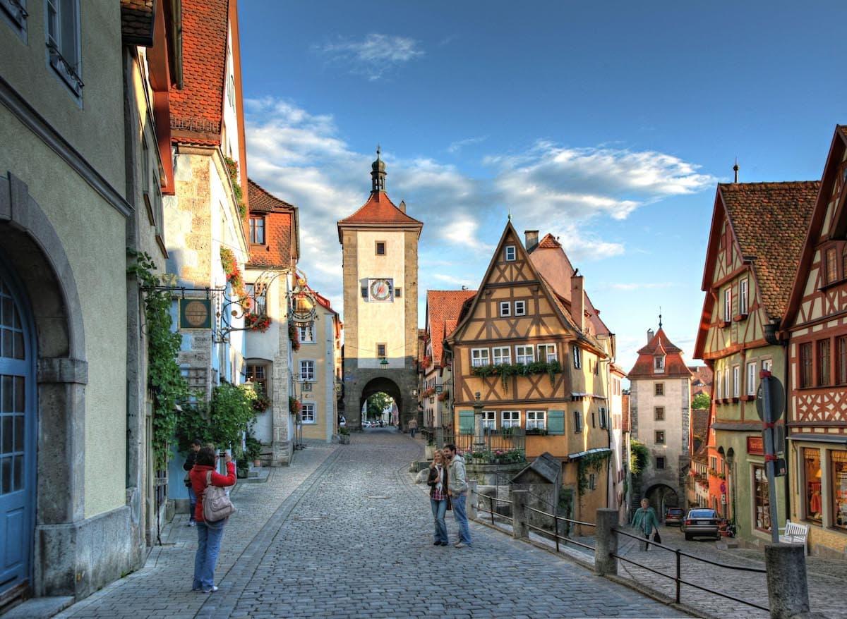 Taubertal: Plönlein, Rothenburg ob der Tauber – Foto: Rothenburg Tourismus Service, Pfitzinger