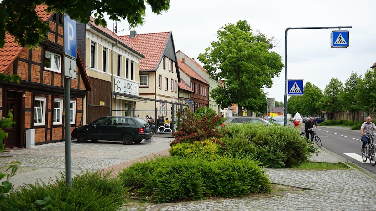 Altmark, Klötze: Das beste Eis gibt es bei Guzzo. Foto: Beate Ziehres