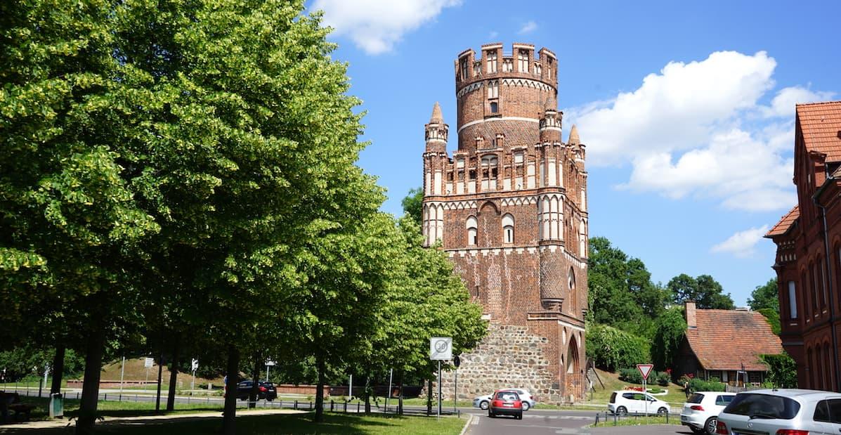 Altmark, Stendal: das Uengelinger Tor. Foto: Beate Ziehres