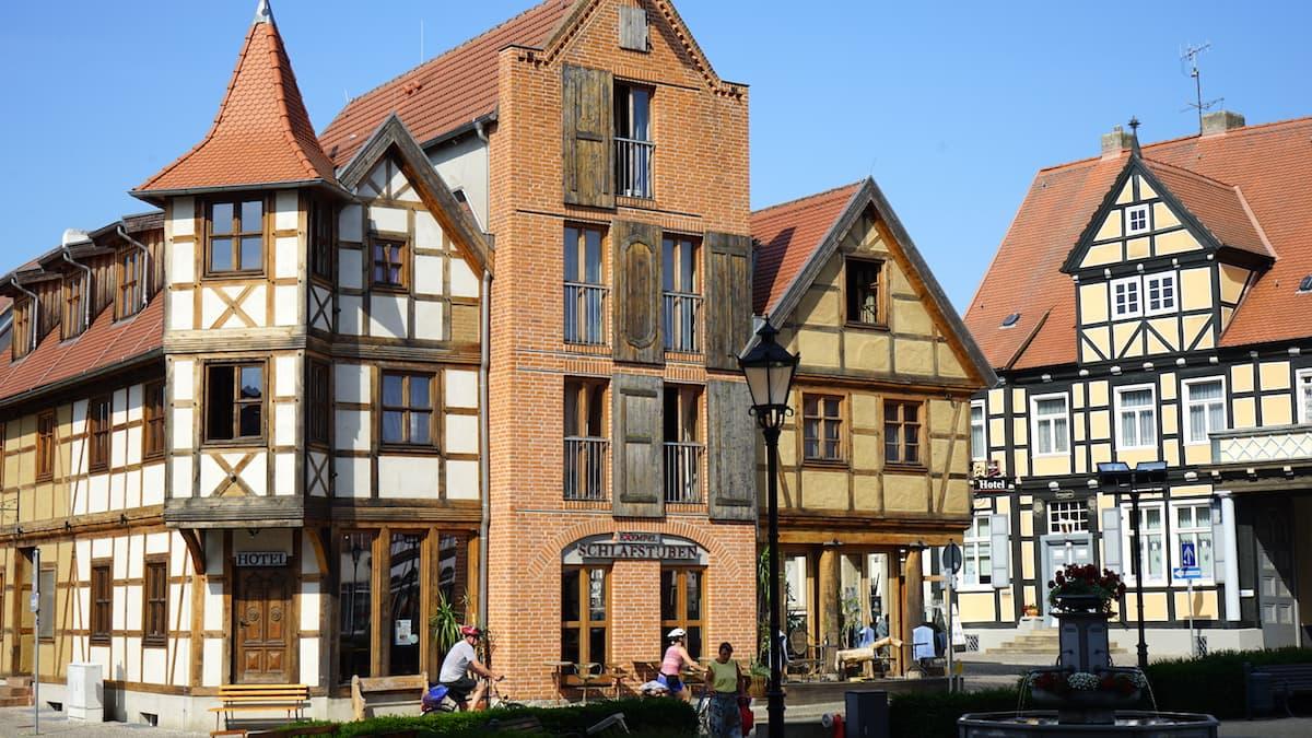 Altmark, Tangermünde: Hotel Exempel Schlafstuben. Foto: Beate Ziehres