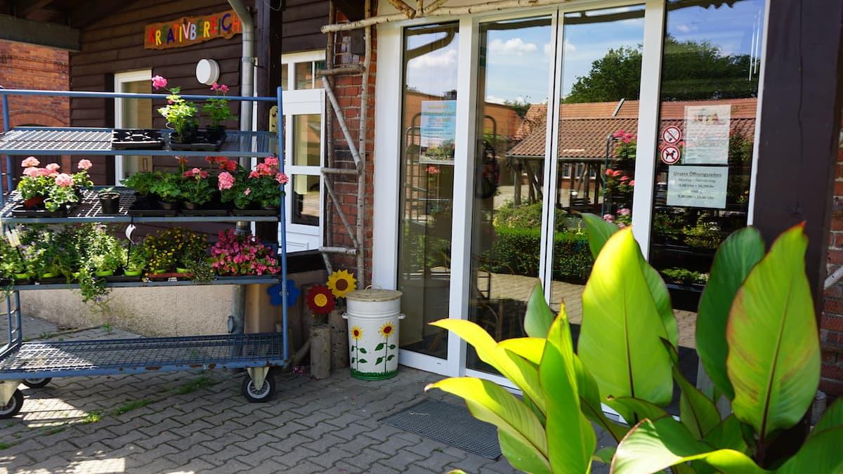 Altmark, Uchtspringe: Hofladen. Foto: Beate Ziehres