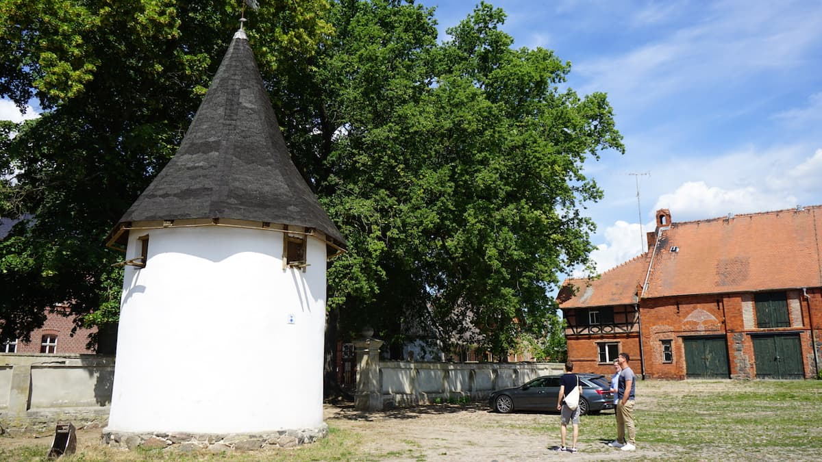 Altmark, Wittenmoor: Taubenhaus des Ritterguts. Foto: Beate Ziehres