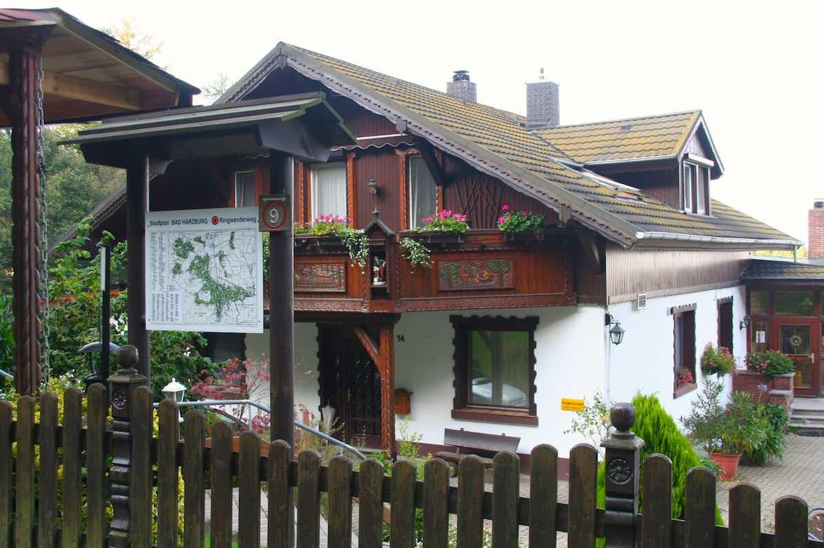 Das Café Goldberg bei Bad Harzburg – Foto: Beate Ziehres