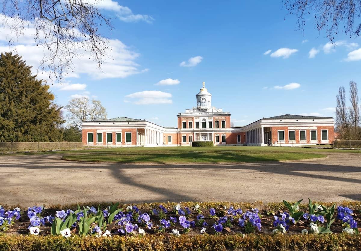Potsdam: Marmor-Palais im Neuen Garten. Foto: Beate Ziehres
