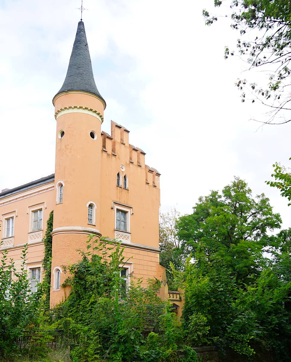 Brandenburg: Schloss Gusow. Foto: Beate Ziehres