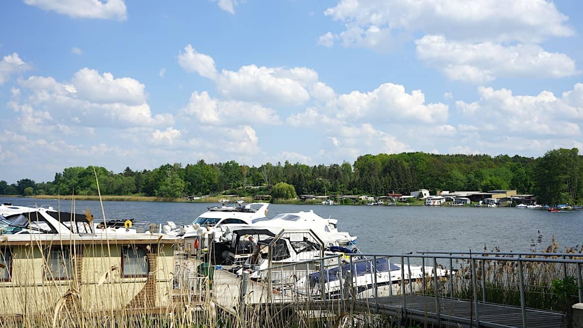 Wusterwitzer See, Brandenburg, Deutschland. Foto: Beate Ziehres