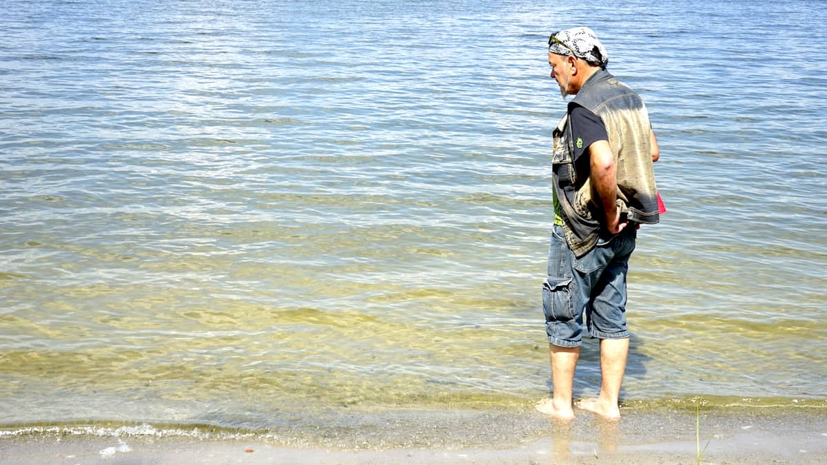 Urlaub in Deutschland: Wusterwitzer See. Foto: Beate Ziehres
