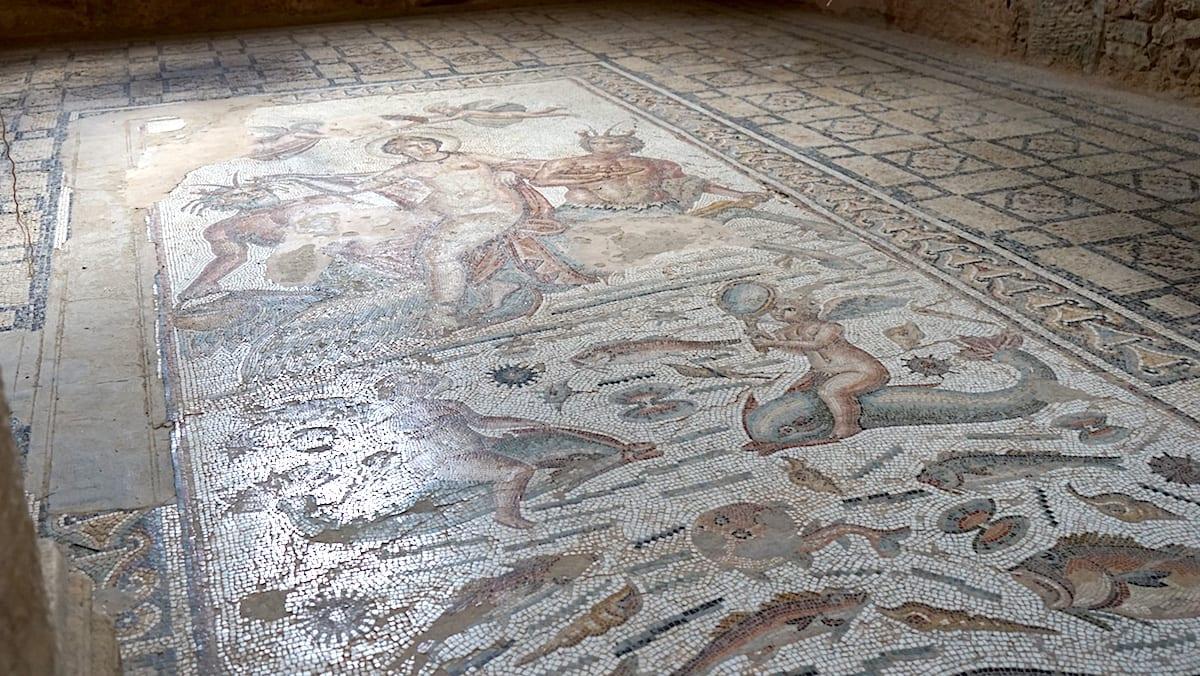 Römisches Mosaik in Bulla Regia im Norden von Tunesien. Foto: Beate Ziehres