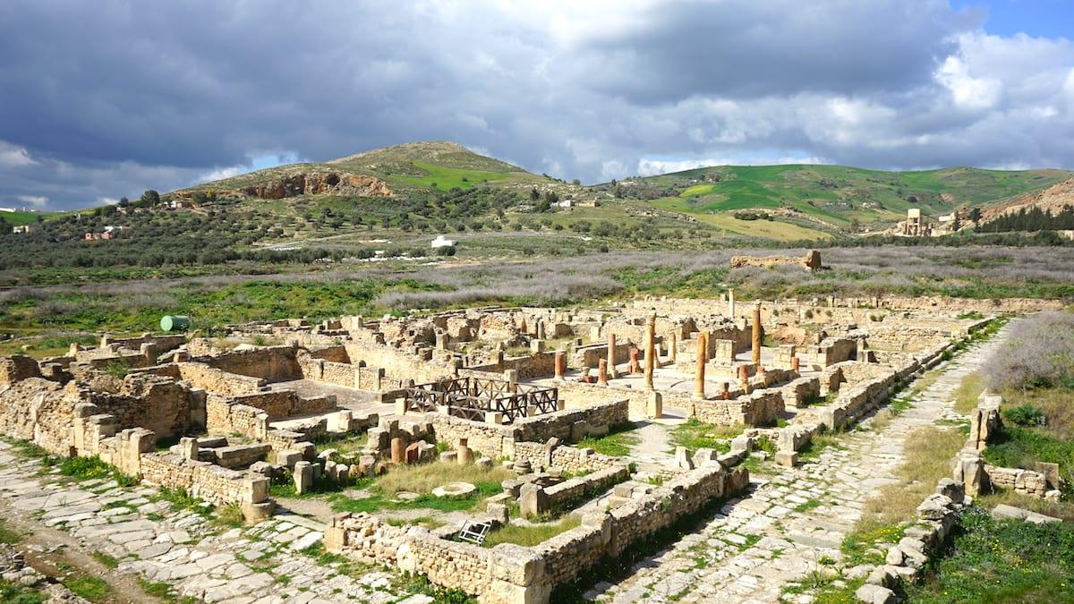 Antike Stadt Bulla Regia, Tunesien, Norden, Urlaub. Foto: Beate Ziehres