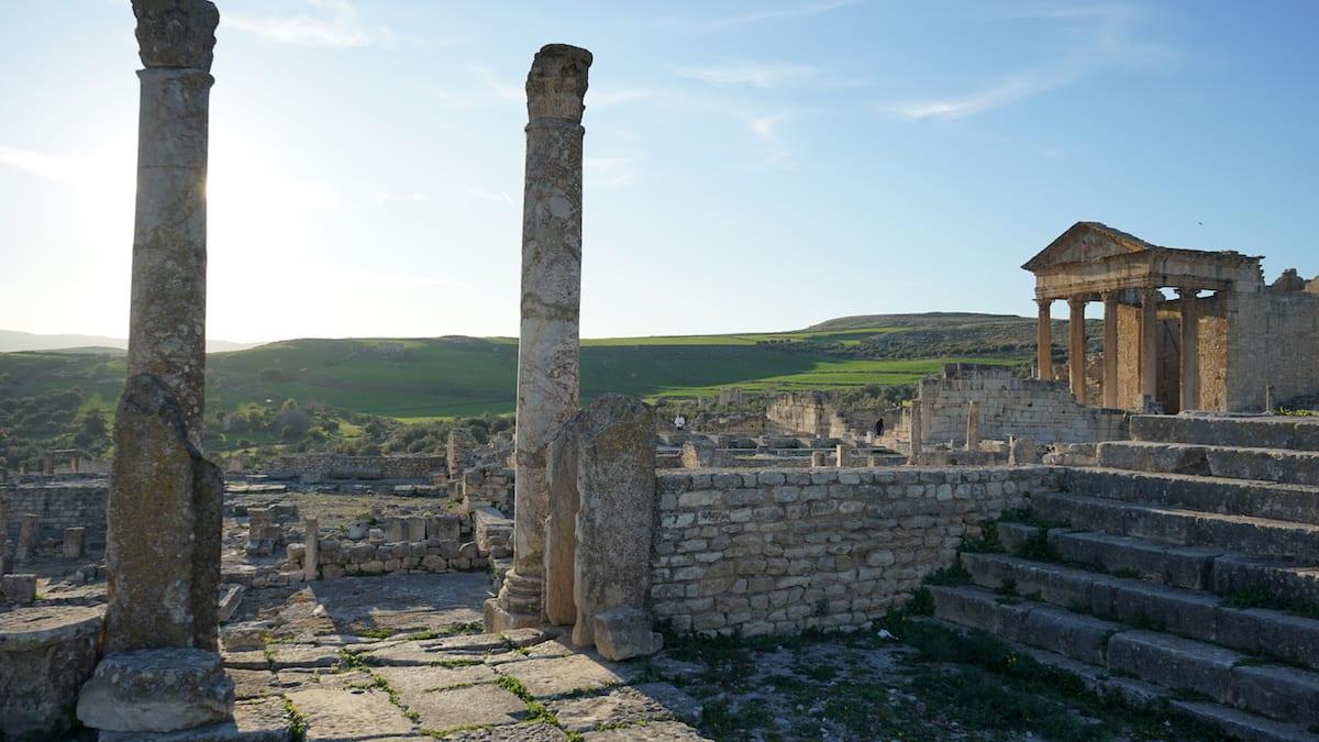 Dougga, Urlaub im Norden von Tunesien. Foto: Beate Ziehres