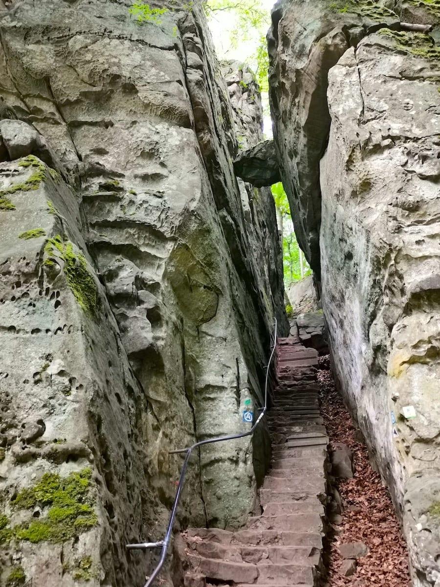 Teufelsschlucht in der Eifel. Foto: Beate Ziehres / Reiselust-Mag