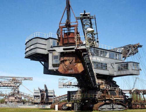 Ferropolis: Industriedenkmal zum Feiern, Campen und Chillen