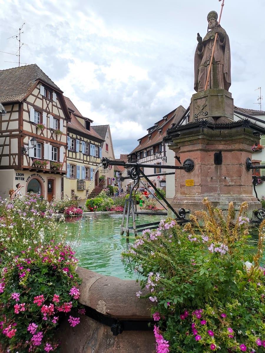 Eguisheim im Elsass, Frankreich. Foto: Beate Ziehres / Reiselust-Mag