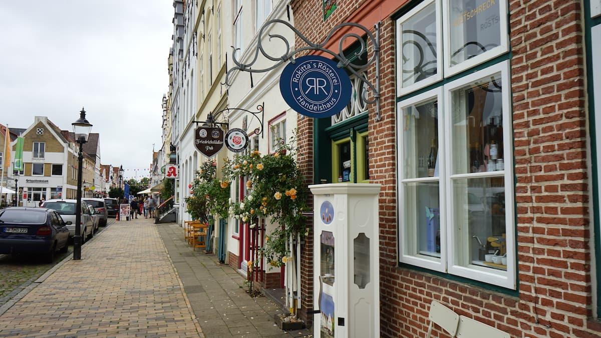 Friedrichstadt, Schleswig-Holstein: Altstadt: Foto: Beate Ziehres