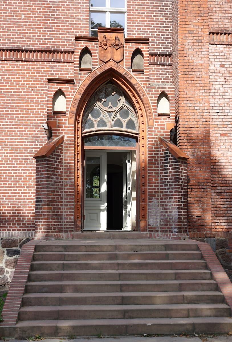 Portal Gut Wittenmoor. Foto: Beate Ziehres