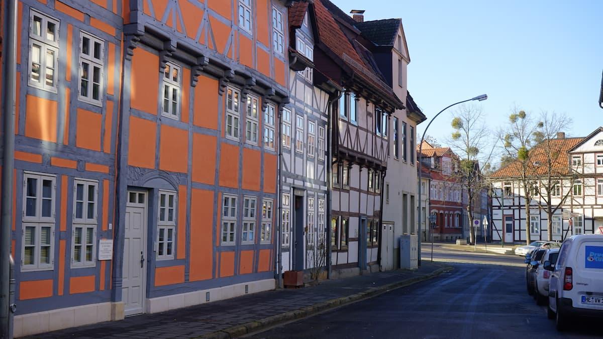 Helmstedt, Beguinenstraße. Foto: Beate Ziehres