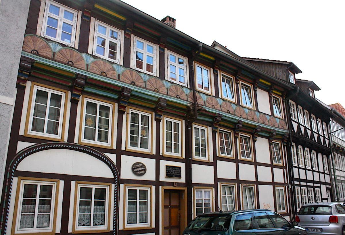 In diesem Haus wohnte Giordano Bruno um 1590. Foto: Lena Ziehres