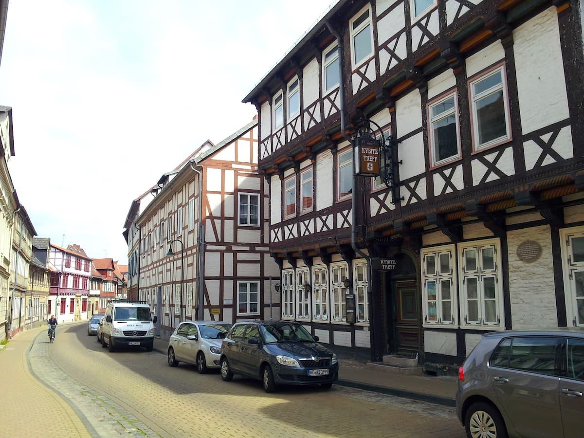 Kybitzstraße. Foto: Beate Ziehres