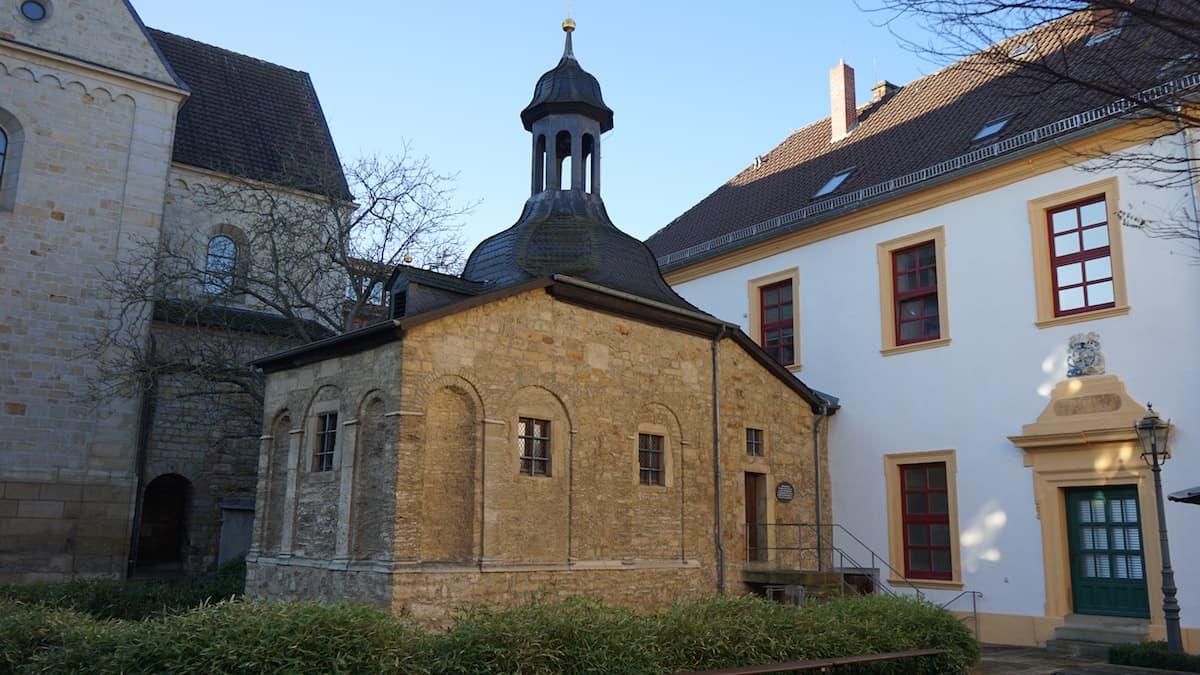 Doppelkapelle im Passhof St. Ludgeri. Foto: Beate Ziehres