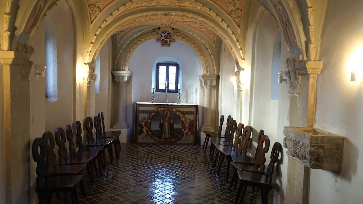 St.-Johannes-Kapelle, Doppelkapelle. Foto: Beate Ziehres