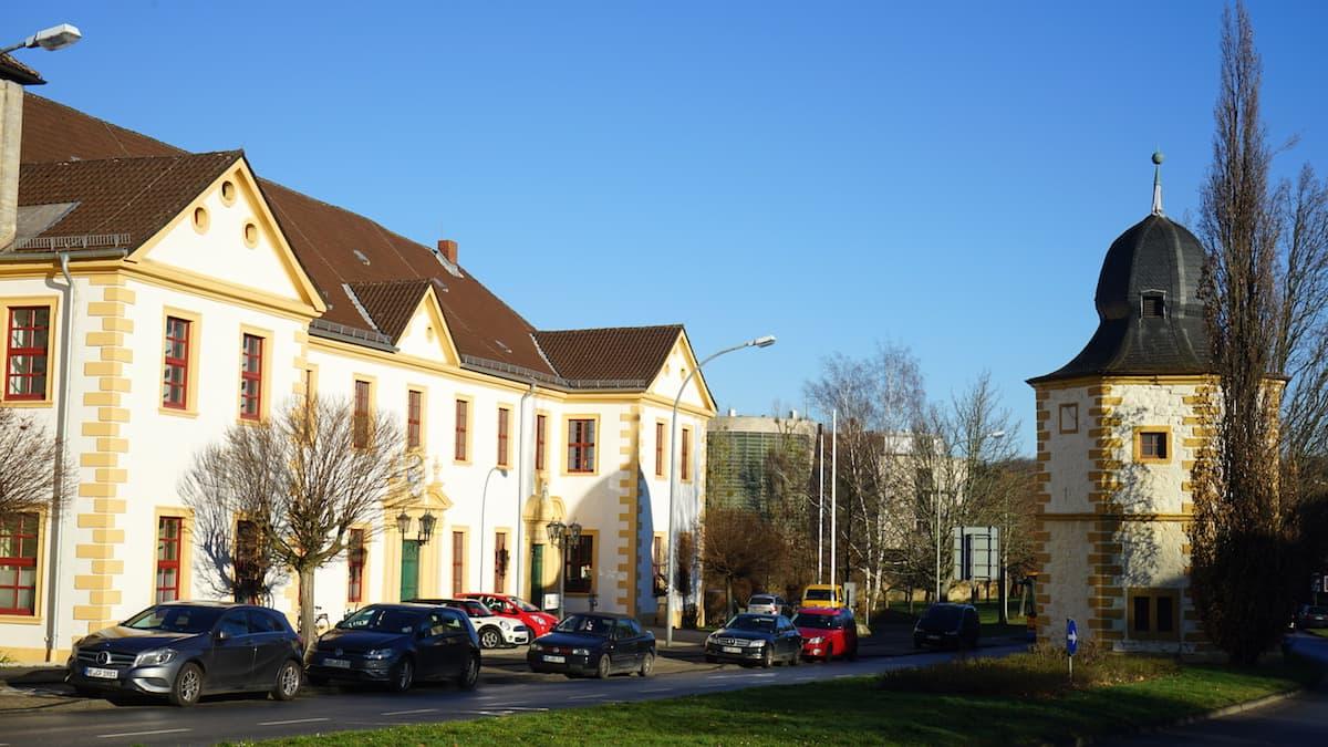 Taubenhaus und Konventsgebäude St. Ludgeri. Foto: Beate Ziehres
