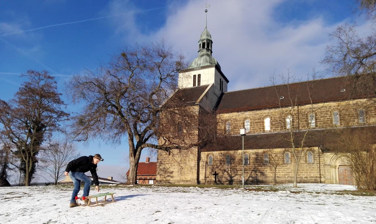 Kirche St. Marienberg. Foto: Beate Ziehres
