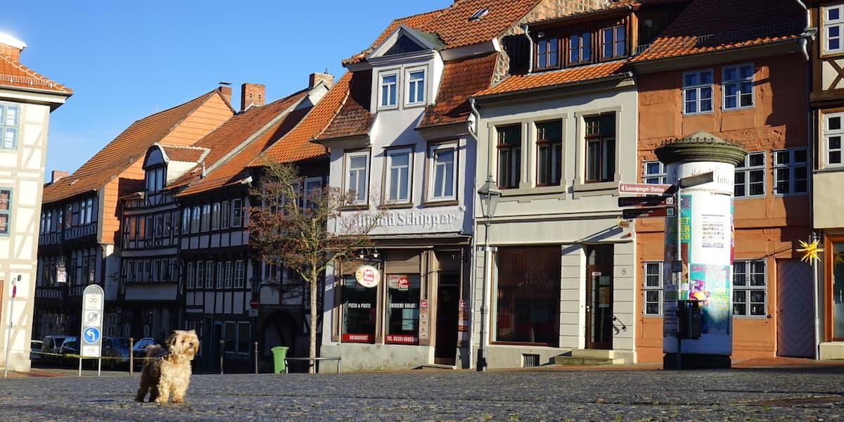 Marktplatz Helmstedt. Foto: Beate Ziehres