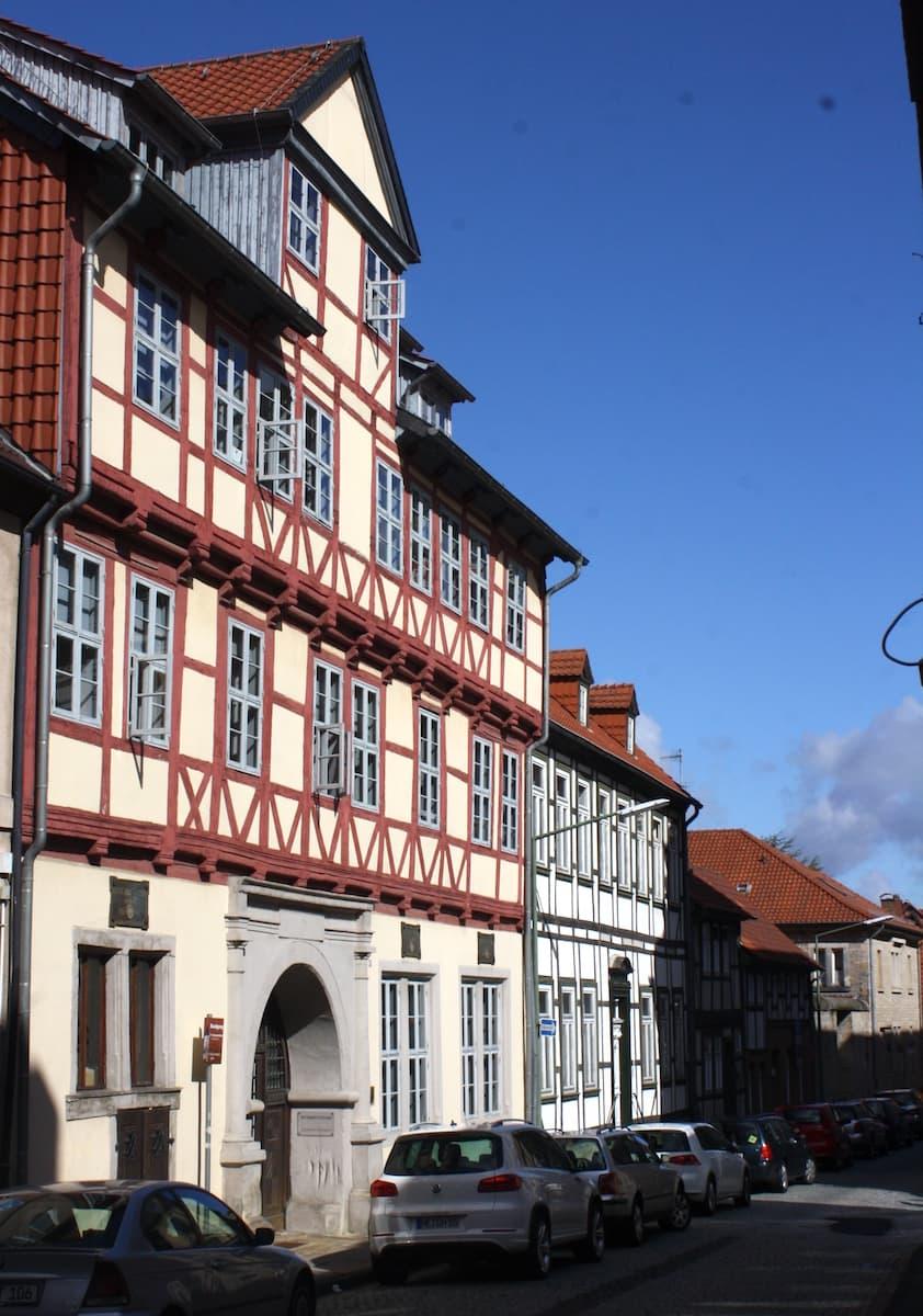 Professorenhaus in der Bötticherstraße. Foto: Lena Ziehres
