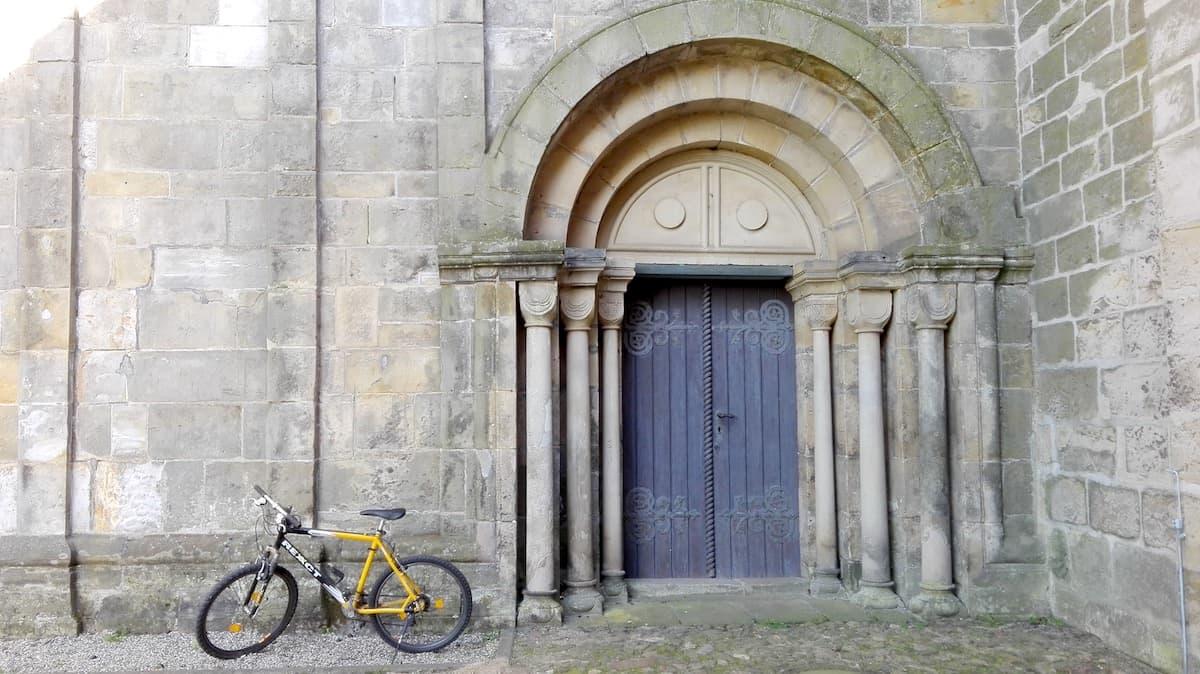 Radtour Klosterkirche Mariental. Foto: Beate Ziehres