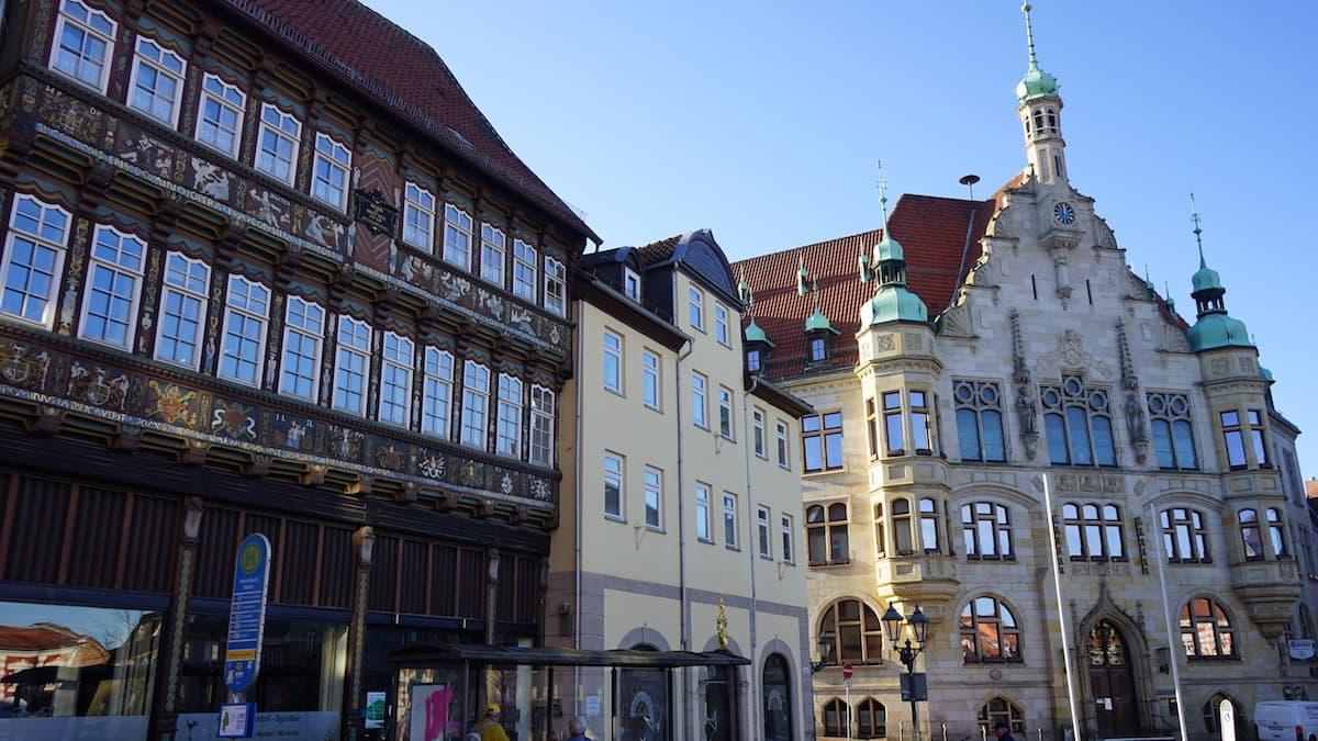 Herzogliches Hoflager und Rathaus Helmstedt. Foto: Beate Ziehres
