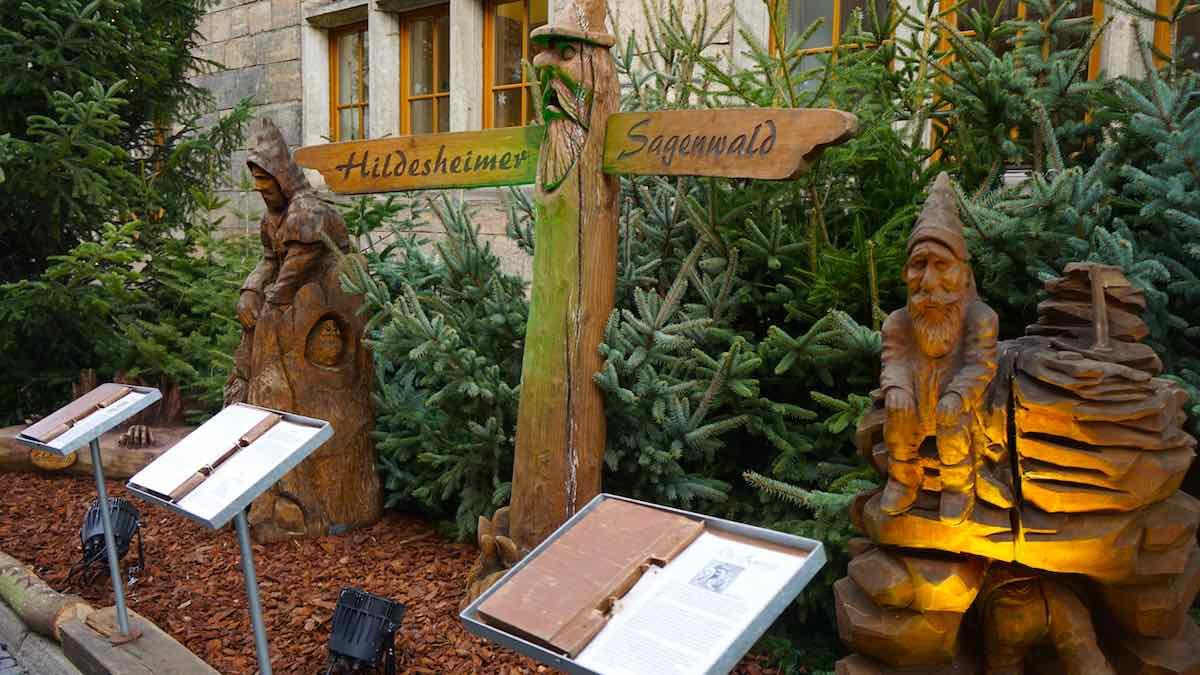 Der Hildesheimer Sagenwald – Foto: Beate Ziehres
