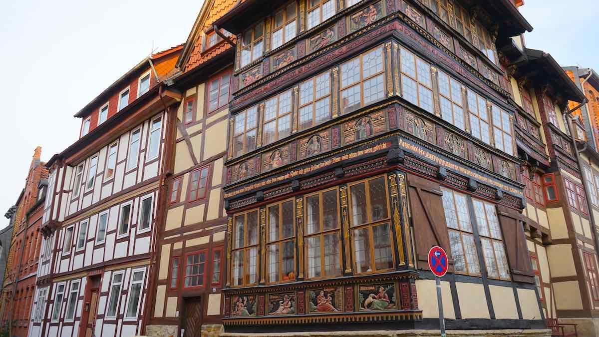 Das Wernersche Haus im Fachwerkviertel von Hildesheim – Foto: Beate Ziehres