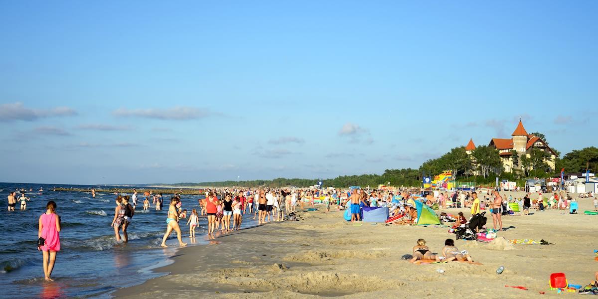 Polnische Ostsee, Leba, Urlaub: Überraschendes Leba, Polen – Foto: Beate Ziehres