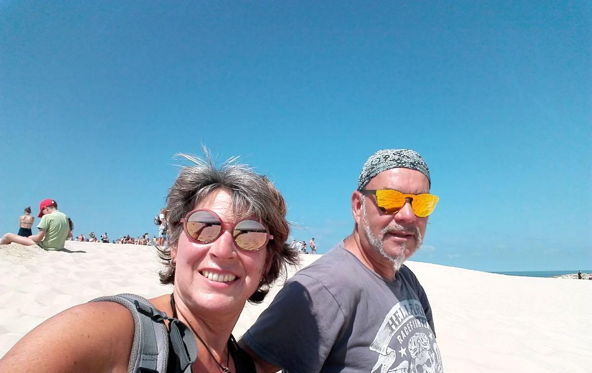 Auf der Wanderdüne von Leba an der polnischen Ostsee – Foto: Beate Ziehres