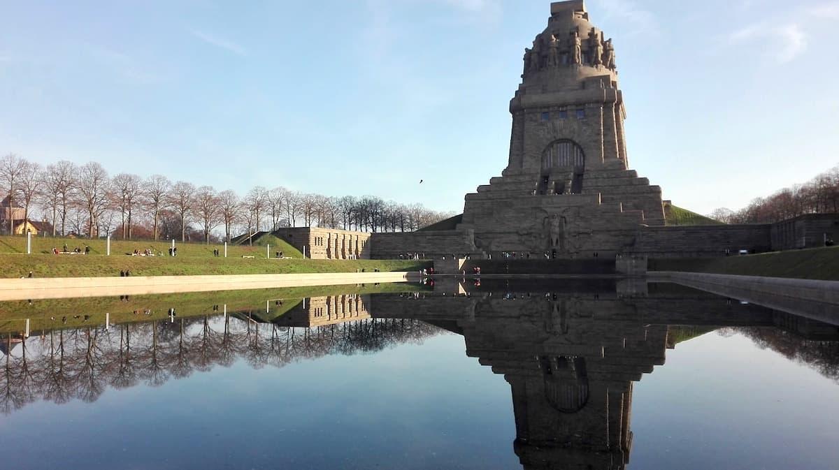 Leipzig, Völkerschlachtdenkmal. Foto: Beate Ziehres