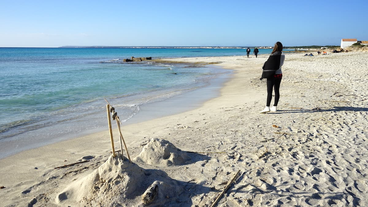 Mallorca, Strand von Es Trenc. Foto: Beate Ziehres