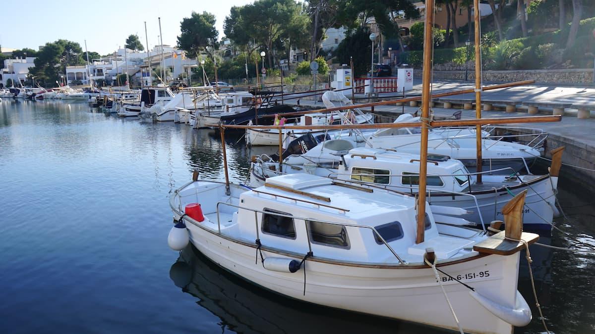 Mallorca, Hafen von Portopetro. Foto: Beate Ziehres