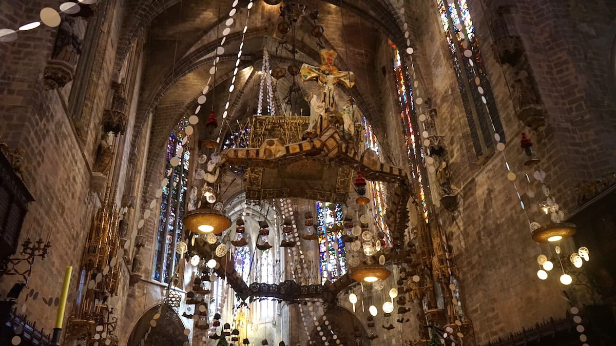 Kathedrale La Seu Palma de Mallorca, innen. Foto: Beate Ziehres