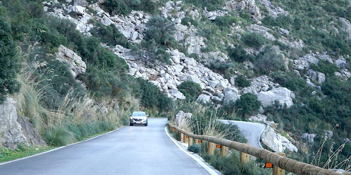 Mallorca im Winter: Sa Calobra. Foto: Beate Ziehres