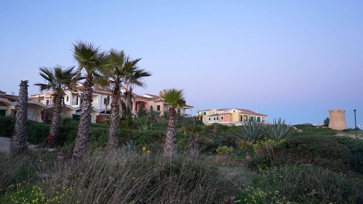 Mallorca im Winter: Abendstimmung in Sa Rapita. Foto: Beate Ziehres