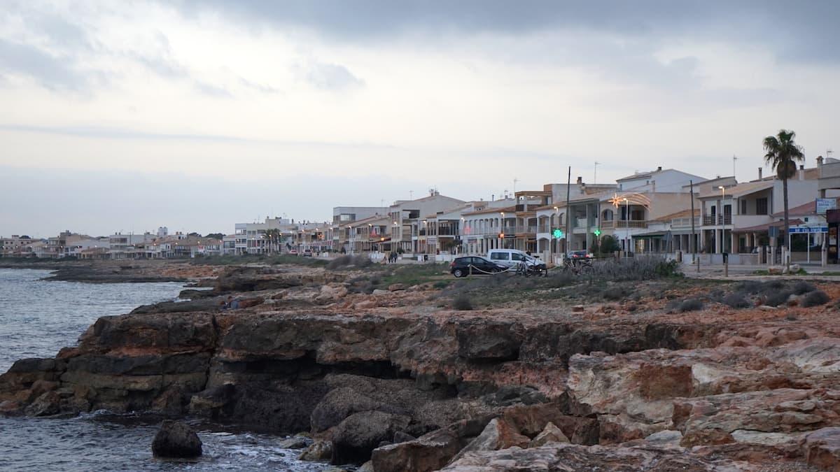 Mallorca im Winter: Sa Rapita. Foto: Beate Ziehres