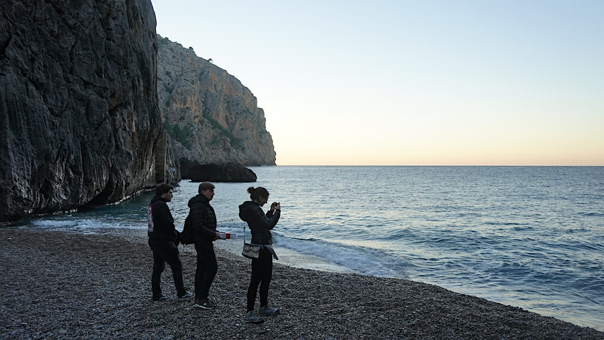 Mallorca im Winter: Torrent de Pareis. Foto: Beate Ziehres