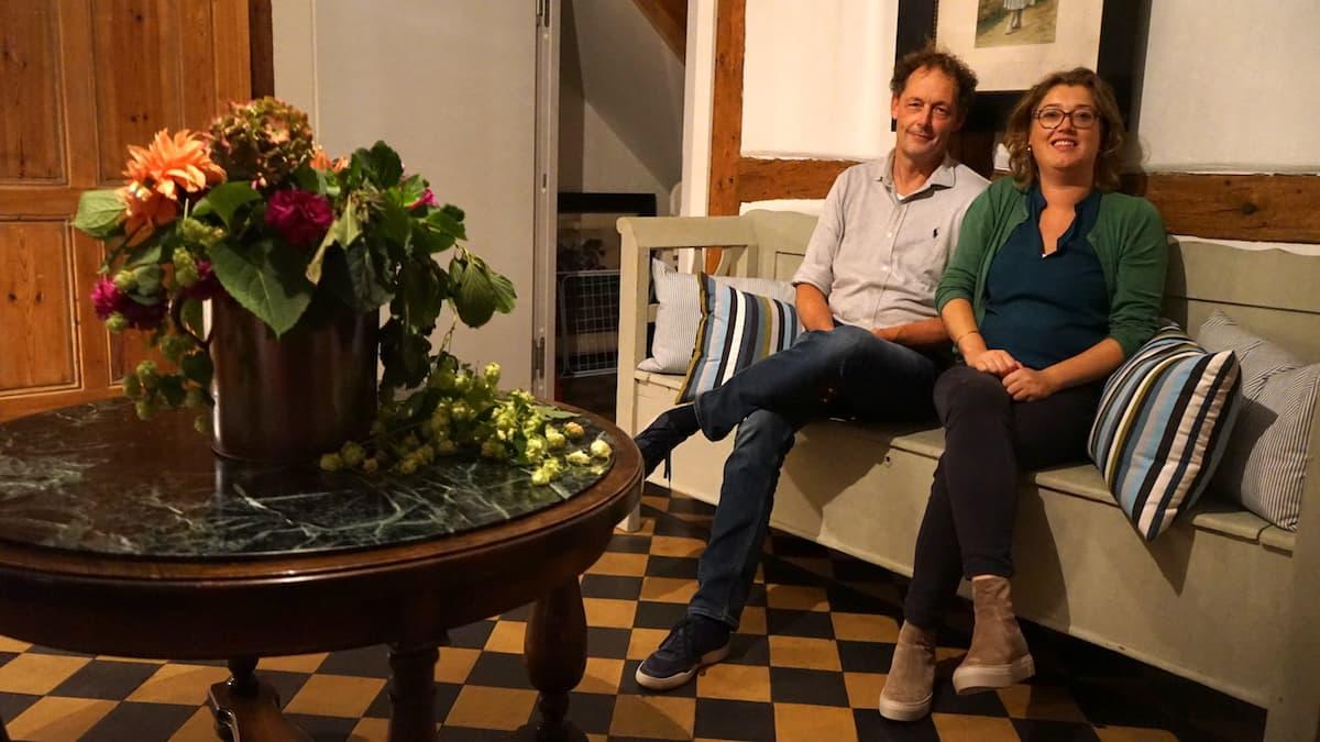 Mecklenburg-Vorpommern barrierefreier Urlaub: Linda und Jan Tuinier Hofman, Altes Pfarrhaus Alt Bukow. Foto: Beate Ziehres