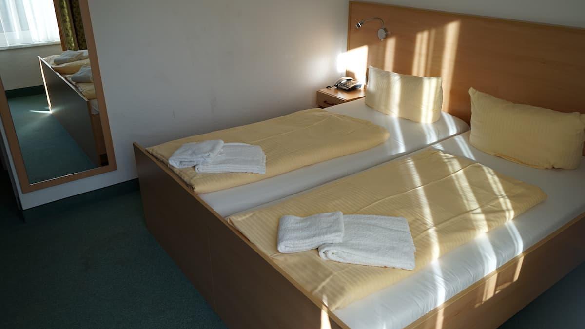 Mecklenburg-Vorpommern barrierefreier Urlaub: Zimmer im Aura-Hotel, Haus Seeschlösschen in Boltenhagen. Foto: Beate Ziehres