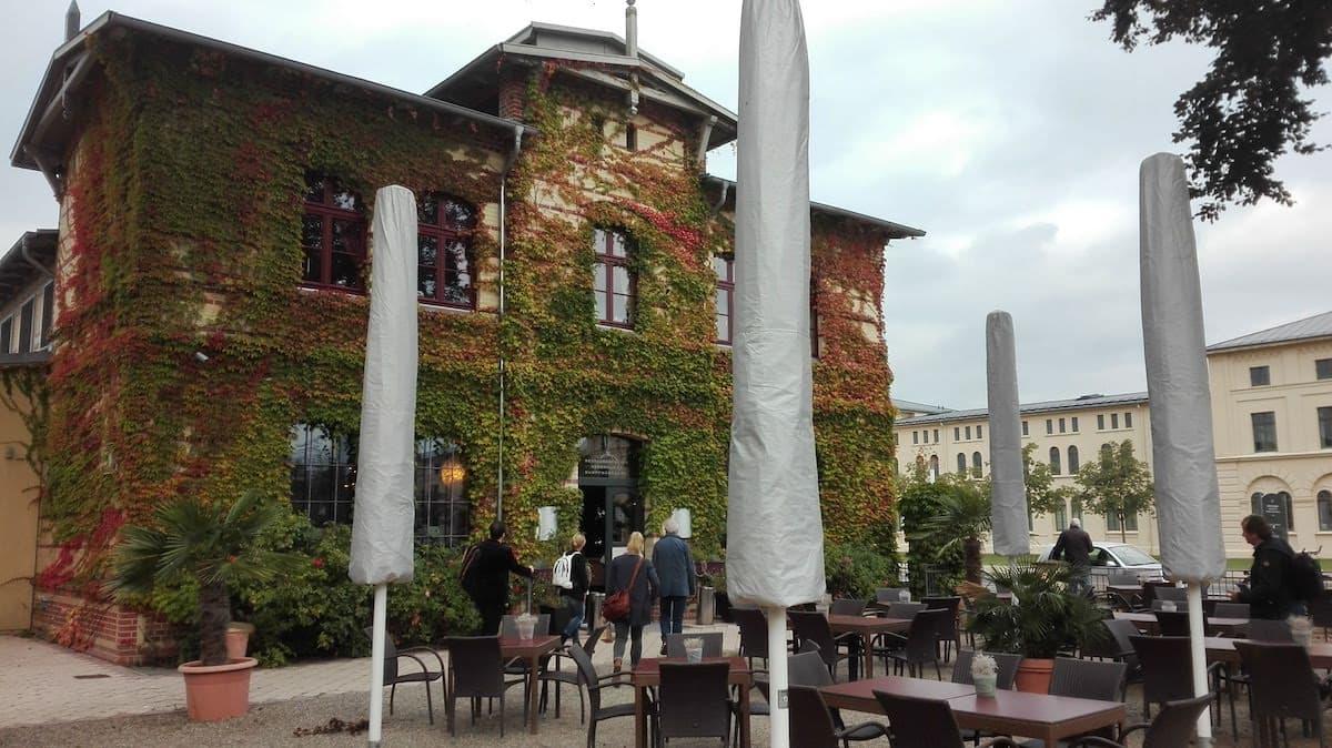 Mecklenburg-Vorpommern barrierefreier Urlaub: Herzogliche Dampfwäscherei in Schwerin. Foto: Beate Ziehres