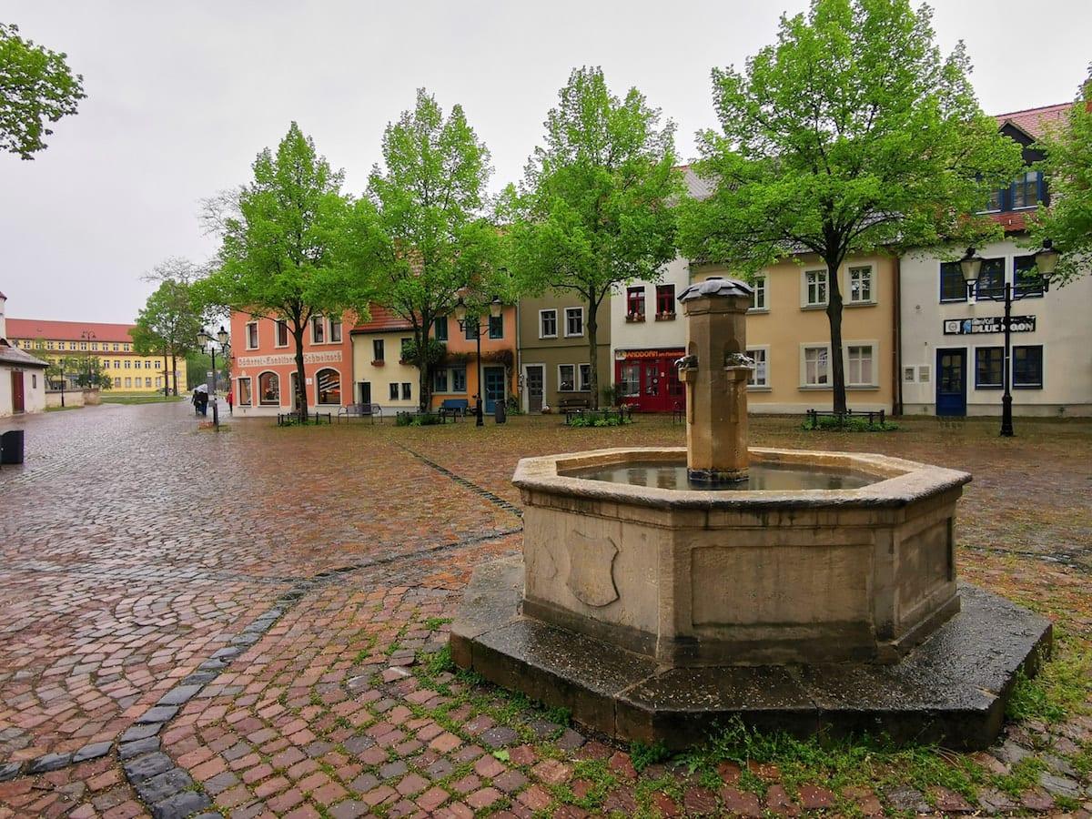 Marienplatz in Naumburg. Foto: Beate Ziehres, Reiselust-Mag