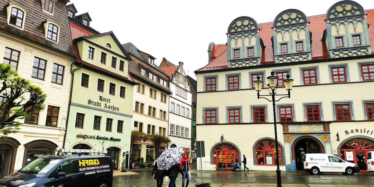 Altstadt von Naumburg. Foto: Beate Ziehres, Reiselust-Mag