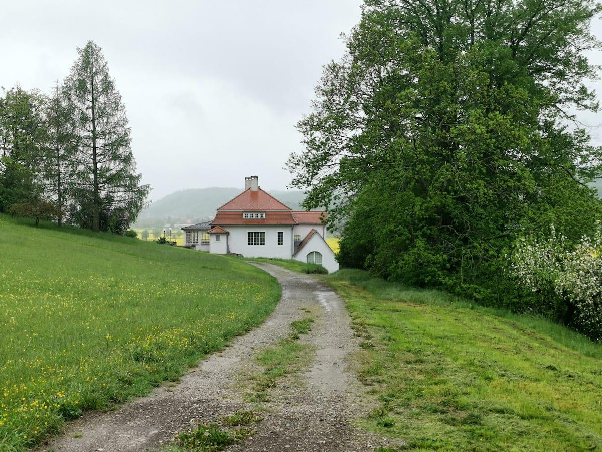Klingerhaus in Großjena. Foto: Beate Ziehres, Reiselust-Mag