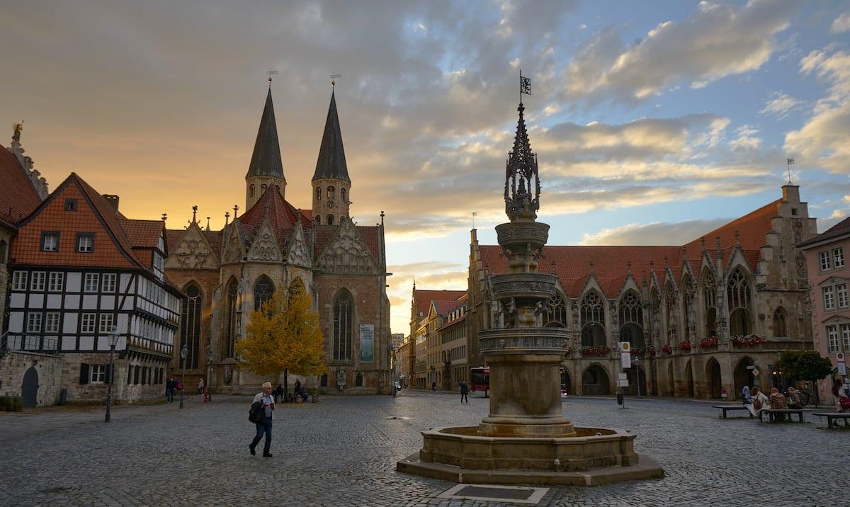 Altstadtmarkt in Braunschweig. Foto: Beate Ziehres / Reiselust-Mag
